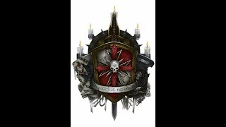 Warhammer 40K Black Templars tribute w/lyrics ENG