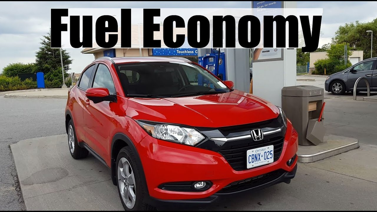 2018 Honda Hr V Fuel Economy Mpg Review Fill Up Costs Youtube