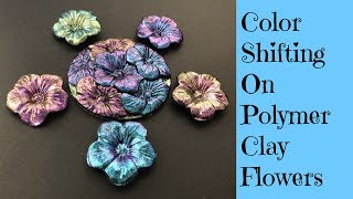 Polymer Clay Tutorial In Time For Mother's Day Creating Easy Flowers Decorated With Dragonfly Glaze