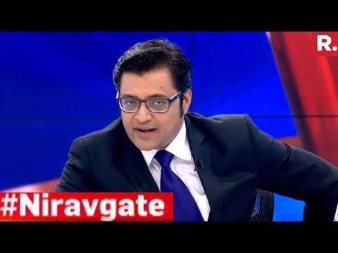 Who is Responsible For Nirav Modi Scam? | The Sunday Debate With Arnab Goswami
