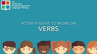 Working on Action Words (Verbs)