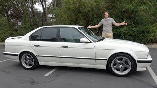The 1991 BMW M5 (E34) Was a 1990s Sport Sedan Icon