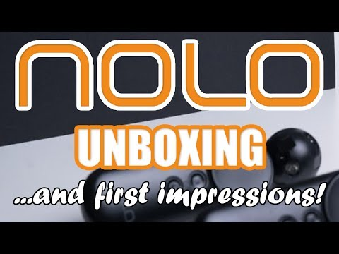 Nolo VR Unboxing & Hands-On Review! Positional Tracking for Daydream, Cardboard and GearVR!