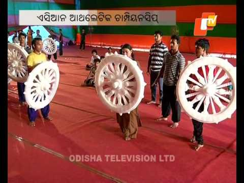 Stage show on Kalinga war during Asian Athletics Meet