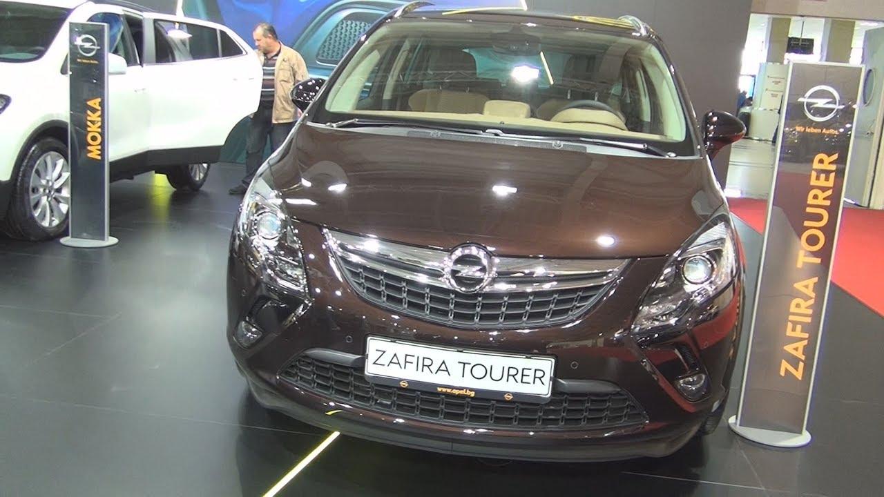 Обновленный Opel Zafira Tourer 2017 - YouTube