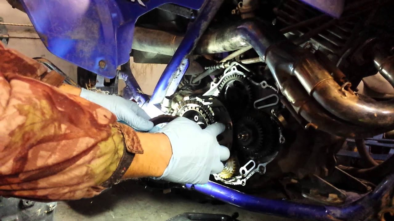 Replacing The Clutch On A Yamaha Raptor 660 3 Of 5 Youtube 2003 660r Wiring Diagram