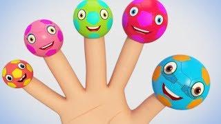 Football Finger Family | Nursery Rhymes For Children