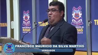 Maurício Martins pronunciamento 25 09 2018