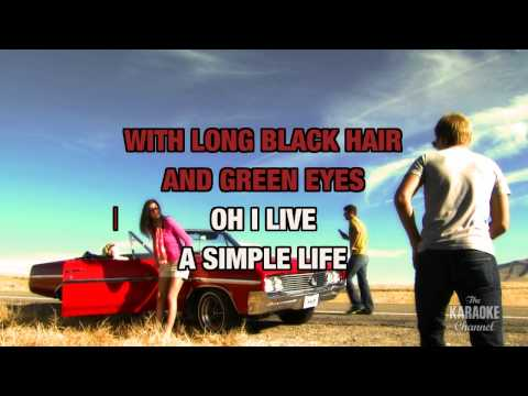 """A Simple Life in the Style of """"Ricky Skaggs"""" with lyrics (with lead vocal)"""