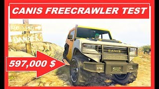 GTA 5 Online new CANIS FREECRAWLER VS KAMACHO , fastest Offroad Cars , After Hours DLC