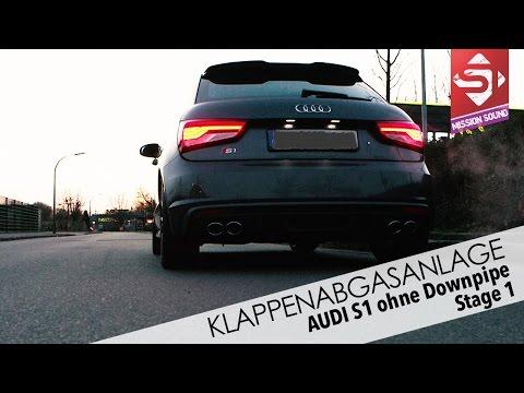 Audi S1 - Klappenabgasanlage by Sidney Industries