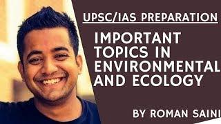 Important Topics in Environmental and Ecology - Roman Saini