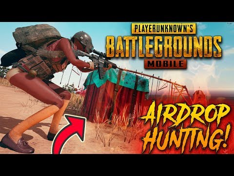 PUBG MOBILE | AIRDROP HUNTING :) Only Chicken Dinner..... Lets Go Boyzz