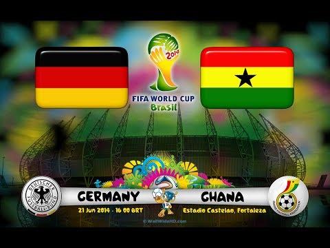 2014 FIFA World Cup: Germany vs Ghana - Gameplay [HD]