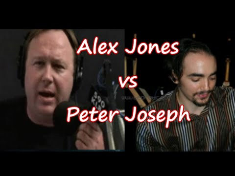 Peter Joseph & Alex Jones Heated Argument, On Live Radio! (Very Entertaining)