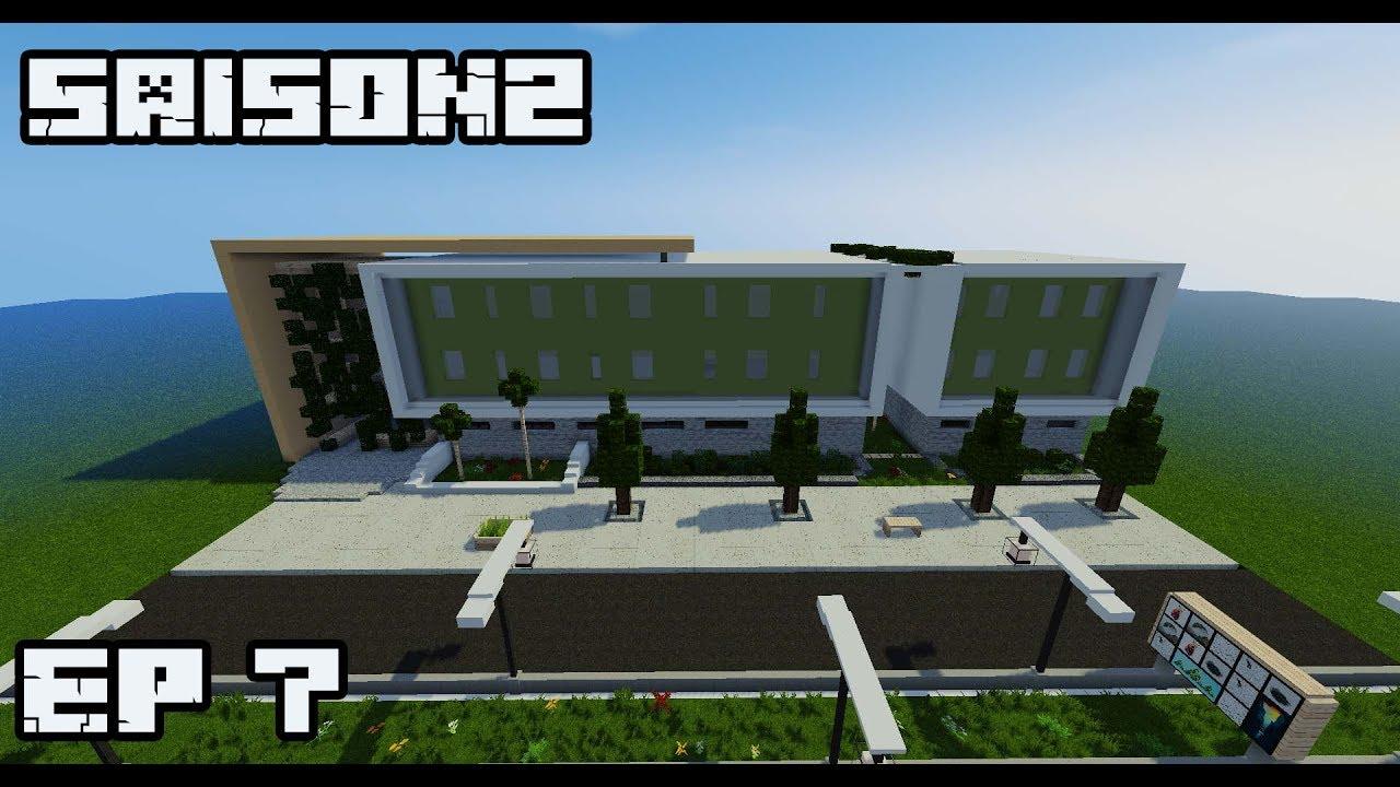 ville minecraft s2 immeuble ultra moderne g ant 7 youtube. Black Bedroom Furniture Sets. Home Design Ideas