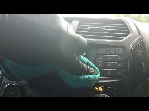 Clean and maintain dash clusters and LCD screen