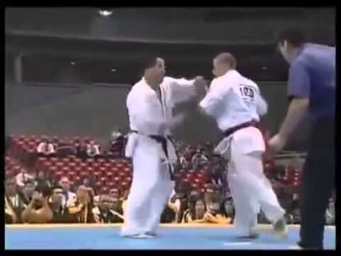 Karatedo đối kháng hay ...Trước đây