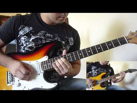 Iron Maiden Flight Of Icarus guitar cover