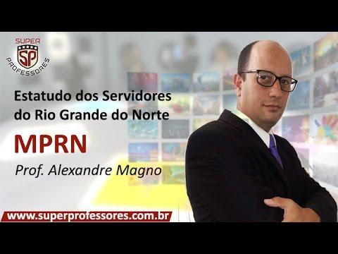 MPRN - Estatuto dos Servidores do Rio Grande do Norte