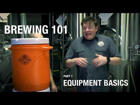 All Grain Brewing For Beginners  (Part 1 Equipment)
