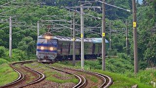 電気機関車EF510(4) ~35系客車新製甲種回送 EF510-501牽引で美しいSカーブを行く~