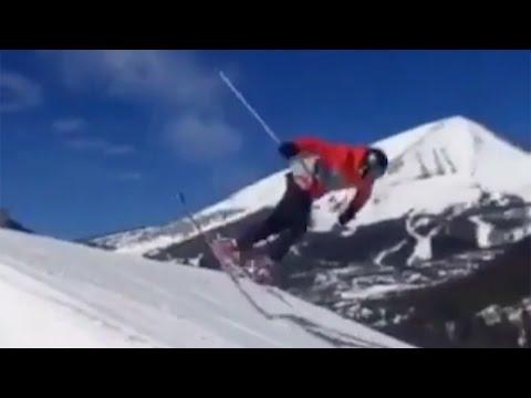 LOL! Watch Tom Brady FACEPLANT While Skiing 😂