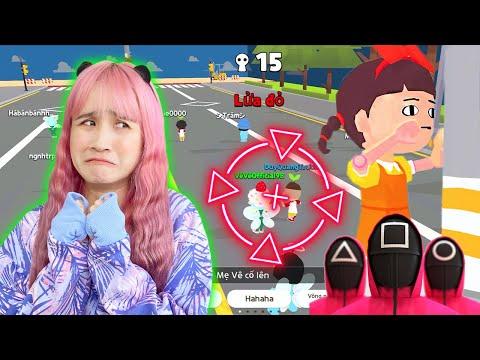 Chị Vê Chơi Squid Game Cùng Fan Trong Play Together | Trò Chơi Con Mực | Vê Vê Official