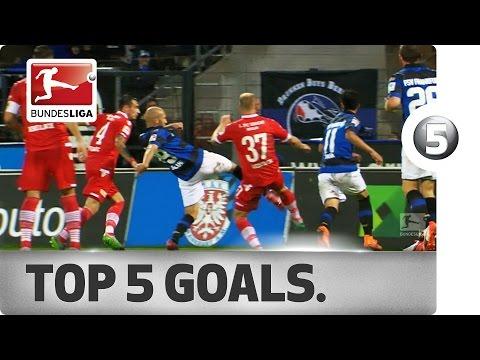 Sensational Top 5 Goals on Matchday 8