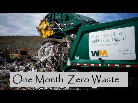 One Month Zero Waste