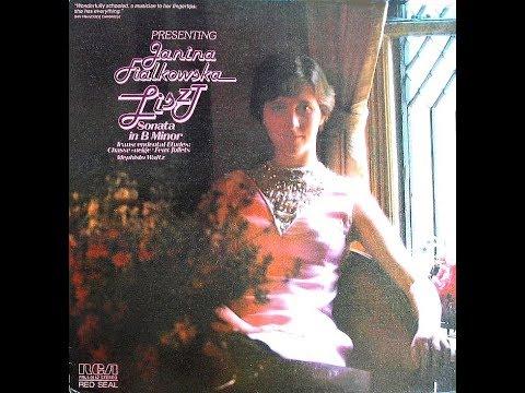 Liszt - Sonata in B Minor - Janina Fialkowska - 1977 (Remake)