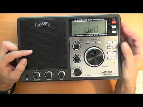Consumer Radio - HAM / Amateur Radio  - Antennas: K-PO WR 2100 World Receiver review