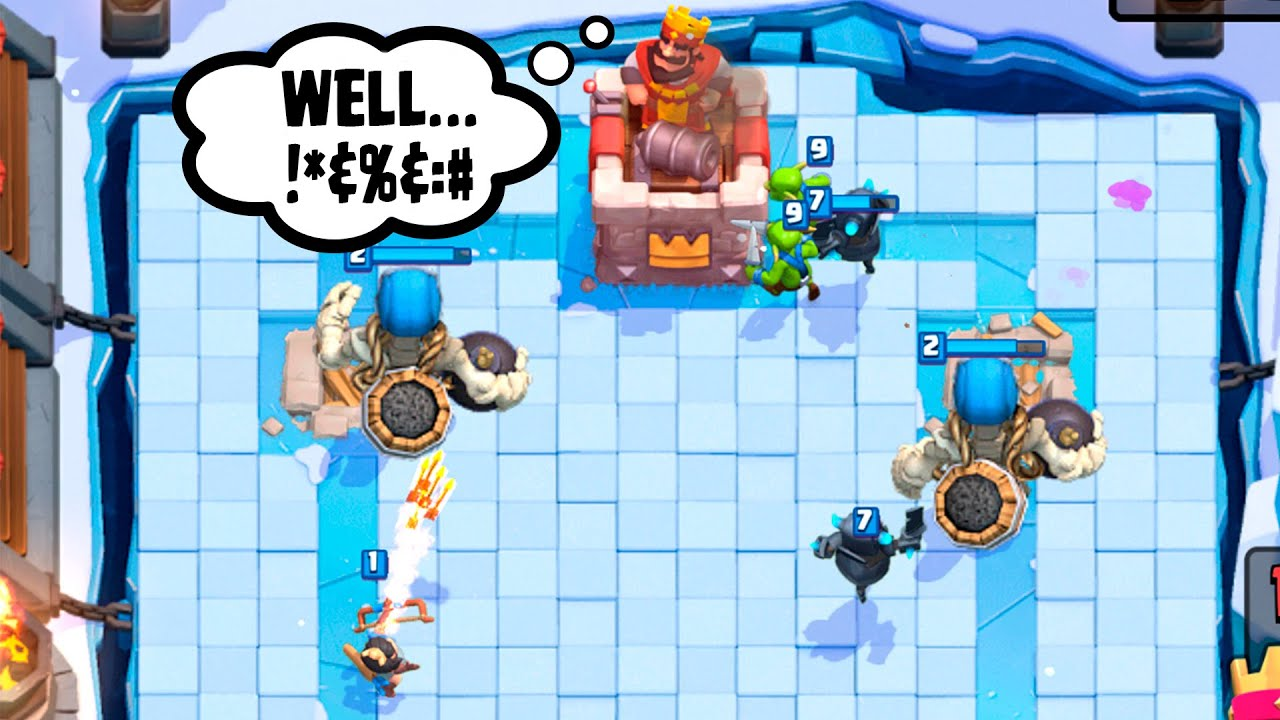 "Download Clash Royale :: Giant Skeleton Is Underrated!! :: Fun ""Troll"" Deck v2.0"
