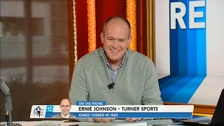 ernie johnson of tnt s inside the nba weighs in on nba playoffs more 5 23 16
