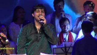 """Santhoshakke haadu santhoshakke"" song @ 53rd Bengaluru Ganesh Utsava...!!!"