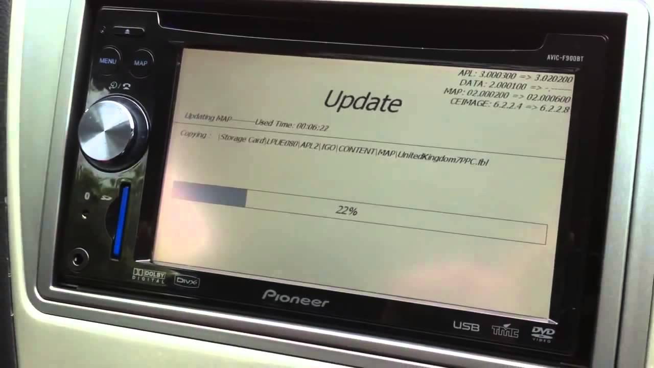 Pioneer electronics firmware updates