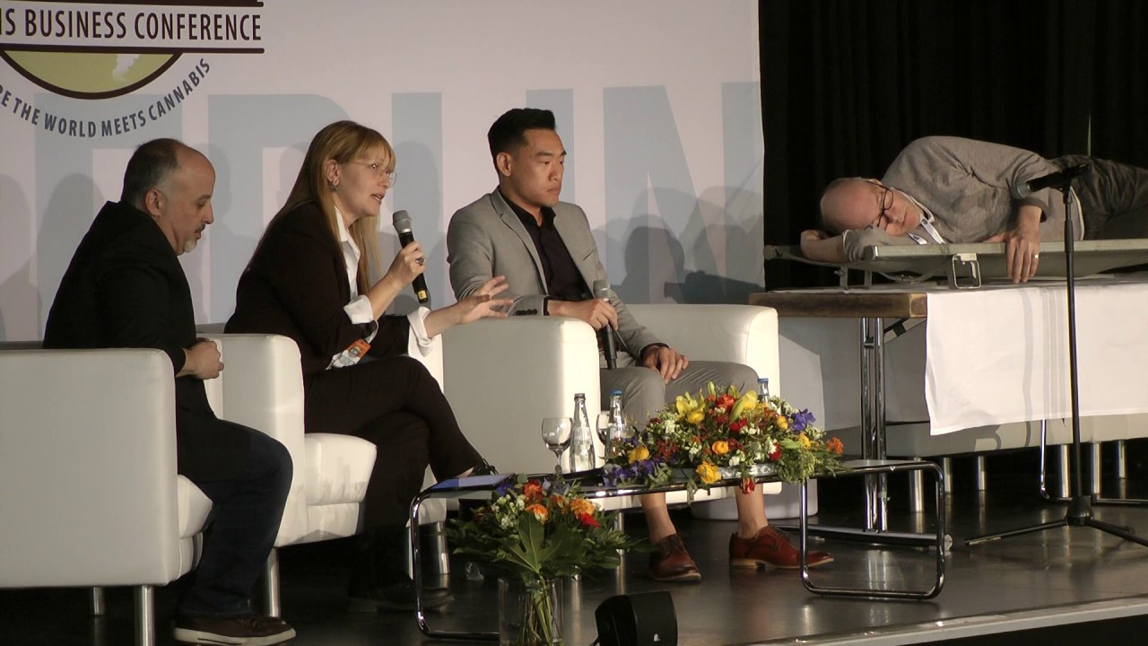 ICBC Berlin 2019 - medical cannabis panel