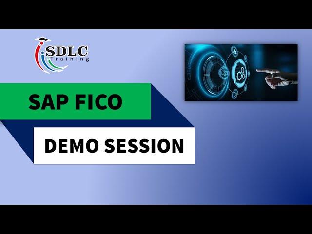 SAP FICO Demo Session   SDLC Training Bangalore