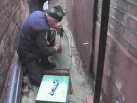 Repairing Drains At Elmtree Ave