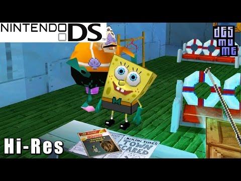 Spongebob ds games