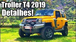 Novo Troller T4 2019 em detalhes - Falando de Carro
