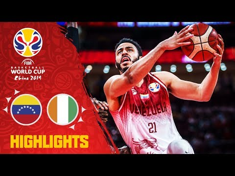 Venezuela v Cote d'Ivoire - Highlights - FIBA Basketball World Cup 2019