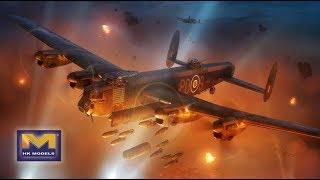 Sprue Review HK Models 1/32 Avro Lancaster B Mk.1