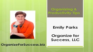 How to Organize Your Life & Productivity Tips: Organize Your Calendar and Contact Systems