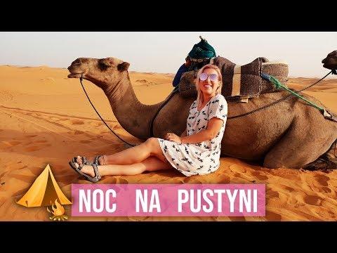 Nocuję na pustyni! 🐪 Maroko Vlog | Agnieszka Grzelak Vlog