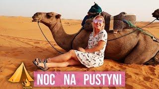Spędzam noc na pustyni i jeżdżę na wielbłądzie!  | Agnieszka Grzelak Vlog