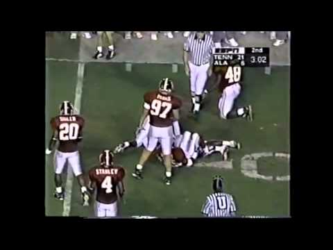 1997 #9 Tennessee vs. Alabama Highlights