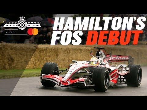 Lewis Hamilton's Goodwood FOS debut
