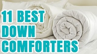 Best Down Comforter 2017 – TOP 11 Comforters