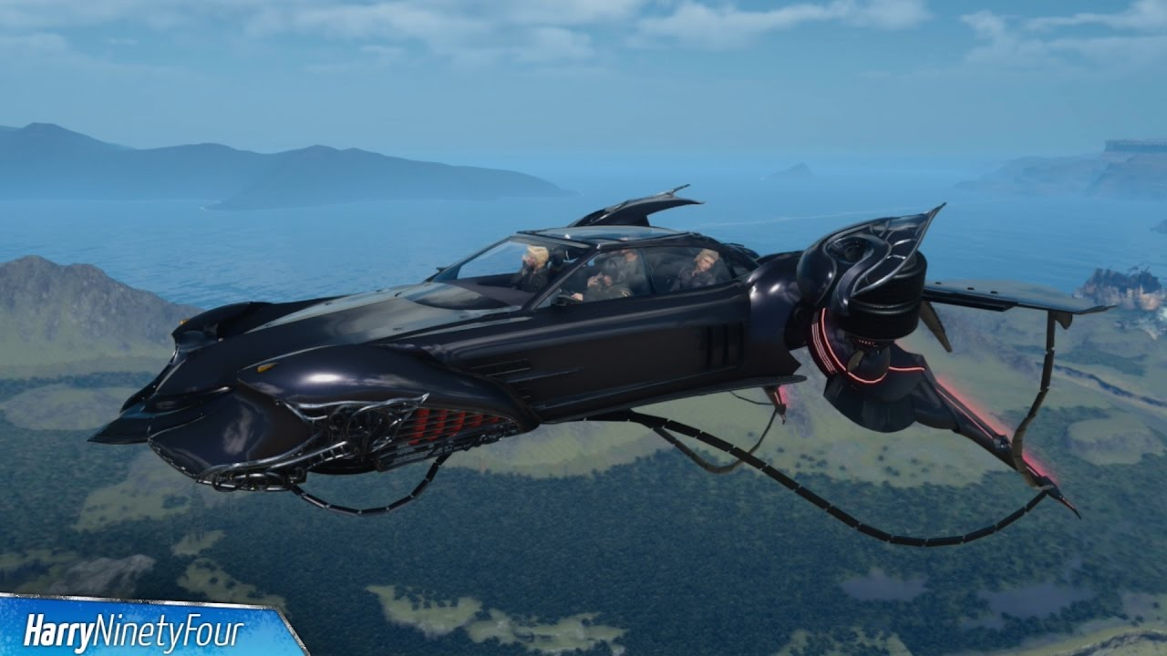 Final Fantasy XV FFXV How To Get The Flying Regalia
